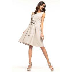 e7caf81748 suknie sukienki rozowa rozkloszowana sukienka koktajlowa bez rekawow ...