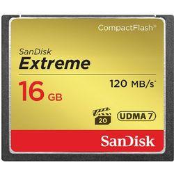 Karta pamięci SanDisk Compact Flash Extreme 16GB (CF) 120MB/s 800x