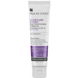 Paulas Choice - Krem nawilżający dla skóry suchej SPF 30 - Moisture Boost Daily Restoring Complex with SPF30 - 60 ml - DOSTAWA GRATIS! Kupując ten produkt otrzymujesz darmową dostawę !