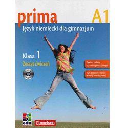 Prima A1 GIM . Ćwiczenia. Zakres podstawowy. Kurs dla początkujących. Jezyk niemiecki (opr. miękka)