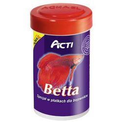 AQUA EL Acti Betta - pokarm płatkowany dla bojowników 100ml