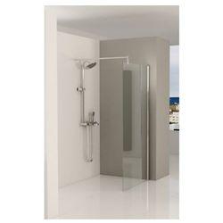 RIHO FJORD F400 Ścianka Walk-In 120x200, szkło transparentne EasyClean GFB0107800