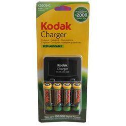 Ładowarka Kodak 620E-C + 4 akumulatory AA Kodak 2100mAh