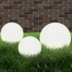 vidaXL Lampy ogrodowe E27 20/30/40 cm PMMA Darmowa wysyłka i zwroty