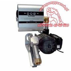Pompa łopatkowa do oleju napedowego DRUM TECH z Miernikiem