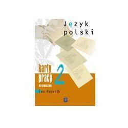 Język polski, klasa 2, karty pracy, WSiP (opr. broszurowa)
