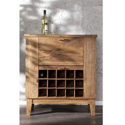 IiNTERIOR Makassar Drewniany Barek Drewno Palisander lakier półmat 85x93x40cm - i15524