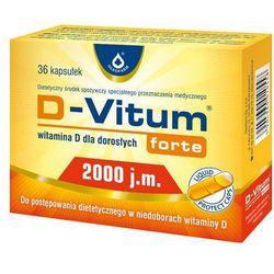 D-Vitum Forte Witamina D3 2000IU 36 kaps.