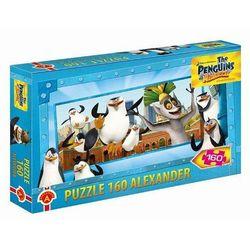 Puzzle Pingwiny z Madagaskaru 160
