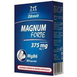 Zdrovit Magnum Forte 375 kaps. 0,375 g 30 kaps.