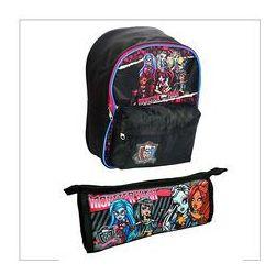 Wyprawka Monster High: Plecak, piórnik-tuba - PAKIET
