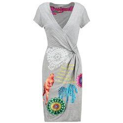 Desigual IRIS Sukienka z dżerseju gris vigore claro