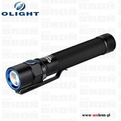 Latarka Olight S2A XM-L2 czarna 550 lumenów wodoodporna IPX8 - zasilanie baterie AA