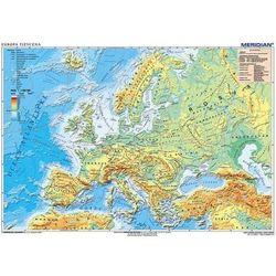 EUROPA MAPA SCIENNA fizyczna-MERIDIAN - scienna