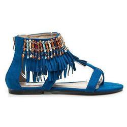 Sandały Goodin Płaskie sandały boho Almudena