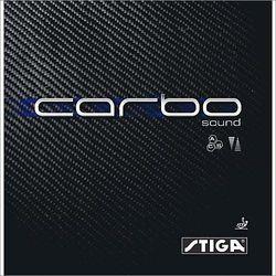 STIGA Carbo Sound - Okładzina - Czerwony