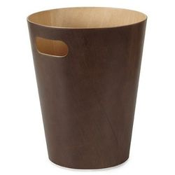 Kosz na śmieci Woodrow brązowy
