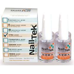 NAIL TEK Odżywka NAILTEK XTRA 4 x 15 ml - CZTEROPAK