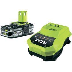 Akumulator i ładowarka do elektronarzędzi Ryobi RBC181L15