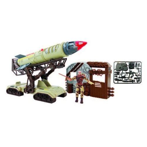 Lanard, Sledgehammer Strike, zestaw z wyrzutnią rakiet i figurką z akcesoriami Darmowa dostawa do sklepów SMYK