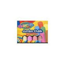 Colorino kids Kreda kolorowa Jumbo w pudełku 6 kolorów