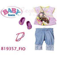 Baby Born Ubranko Dla Lalki Klas.Jeans Fioletowe
