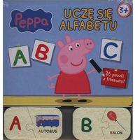 Peppa. Uczę się alfabetu + 26 puzzli z literami