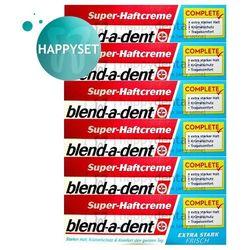 BLEND-A-DENT HappySET ES Frisch 6x47g - kleje (niebieskie) do protez zapewniające świeżość (zestaw 6 sztuk)