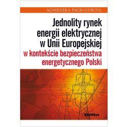 Jednolity rynek energii elektrycznej w Unii Europejskiej w kontekście bezpieczeństwa energetycznego Polski (opr. miękka)