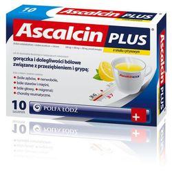 ASCALCIN PLUS smak cytrynowy 20 saszetek