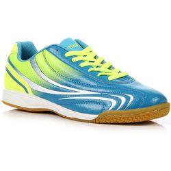 ATLETICO niebiesko-zielone buty sportowe młodzieżowe halówki - niebieski / zielony