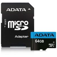 Adata microSD Premier 64GB UHS1/CL10/A1+adapter