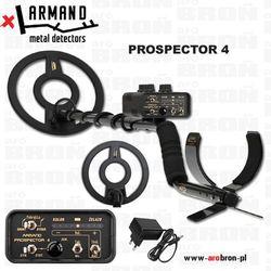 Wykrywacz metali Armand Prospector 4 - NOWOŚĆ - zasilanie akumulatorowe, z latarką LED - przeznaczony do militariów i monet.
