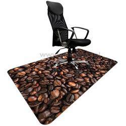 Podkładka ochronna ze wzorem KAWA 009 - pod krzesło - 120x180cm - grubość. 1,3mm