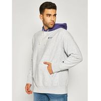 Champion Bluza Contrast Hood Reverse Weave Hoodie 215164 Szary Regular Fit
