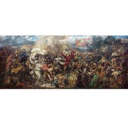 Reprodukcja Bitwa pod Grunwaldem Jan Matejko rozmiar 150 x 65 cm
