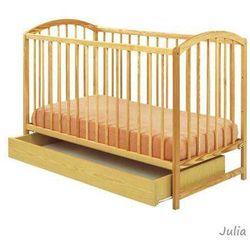 Łóżeczko drewniane z szufladą Julia