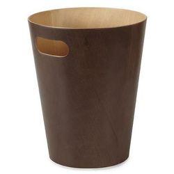 Kosz na śmieci Woodrow - brązowy