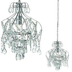 Żyrandol LAMPA wisząca GULLBRINGA 102444 Markslojd kryształowa OPRAWA ZWIS crystal chrom przezroczysty