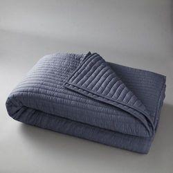 Narzuta na łóżko podszyta watoliną, bawełna 100%