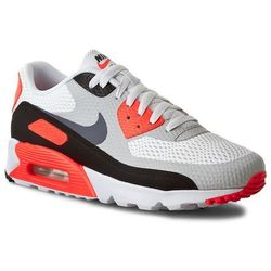 Buty NIKE - Air Max 90 Ultra Essential 819474 106 White/Cool Grey/Infrared/Black