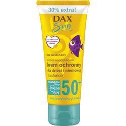 Dax Sun, krem dla dzieci i niemowląt, ochronny na słońce, SPF 50, 75 ml Darmowa dostawa do sklepów SMYK