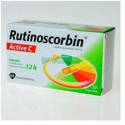 Rutinoscorbin Active C 30 kaps. (Cetebe)