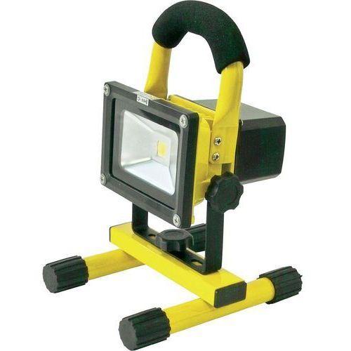 Automatyczny reflektor LED z akumulatorem o napięciu ładowania 12/24/230 V Profi Power 2410003, 800 lm, (DxSxW) 145 x 160 x 240 mm