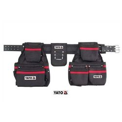 YATO Pas z kieszeniami na gwoździe i narzędzia 120 cm (YT-7400)