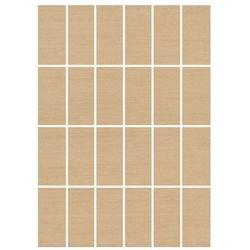 mozaika prostokąty Tenera siena 25 x 35 WD097-027