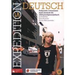 Expedition Deutsch 1A. Klasa 1-3, liceum/technikum. Język niemiecki. Podręcznik z ćwiczeniami (+CD) (opr. miękka)