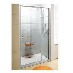 Drzwi prysznicowe PDOP2-120 Ravak Pivot obrotowe piwotowe dwuelementowe 03GG0101Z1