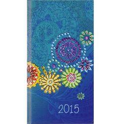 2015 kalendarz kieszonkowy Kwiatki