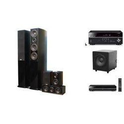 YAMAHA RX-V479 + BD-S677 + TAGA BLUE + TSW-90 - Kino domowe - Autoryzowany sprzedawca
